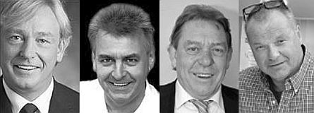 Frank Willers, Wolfgang Willers, Harald Willers, Eberhard Peusch